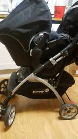 Saftety push chair
