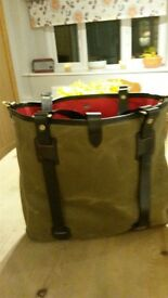 Croots Helmsly tweed tote bag. brand new never used rrp £244.