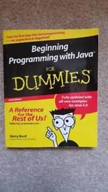 Programming Java for dummies