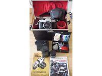 Asahi Pentax Spotmatic Camera and Accessories.