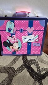 Minnie mouse art tin