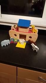 Noahs arc child's toy