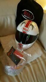 Bell motorbike helmet