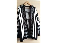 Ladies Wool Jacket / Cardigan Size 16