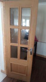 Inside interior door