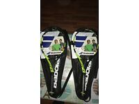 Brand new tennis racquets babolat pure aero grip 2 and 4