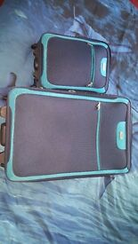 2 x luggage sets