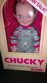 Horror Talking Chucky Doll Childs Play Collectable