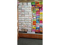Greeting Card Display Unit