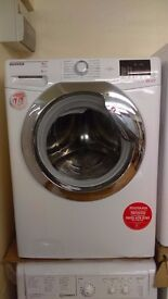 HOOVER 9KG WASHING MACHINE new ex display which may have minor marks or blemishes.