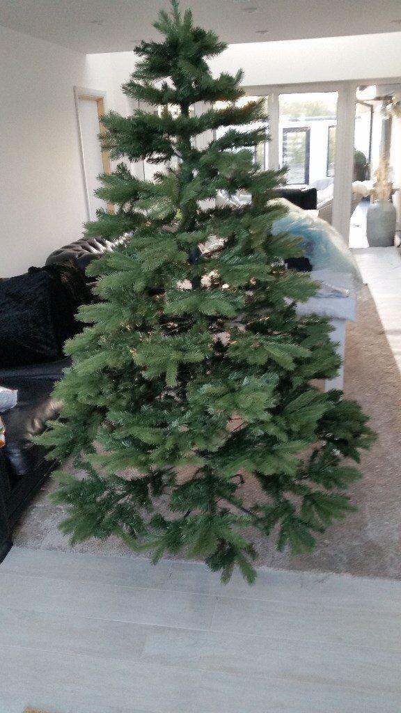Stunning Real Feel Artificial Christmas Tree.