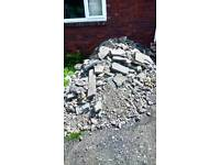 Free Hardcore rubble for collection