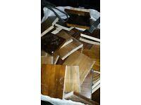 Hard wood blocks