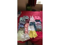 Bundle of 3-4 years girls summer clothes. 21 items