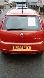 Fiat punto 5 door 56 plate