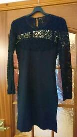 Next Black Lace Dress