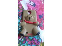 Moschino brown bear phone case for Samsung S4