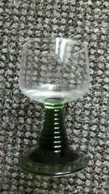 Retro Vintage Wine Glasses set of 6