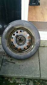 2 Ford fiesta steel wheels