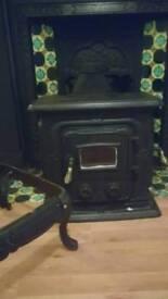 Clarke parlour multi fuel burner