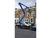 Cherry picker hire with tradesman free quotes for all work 07402346893 24/7