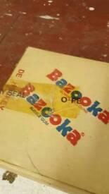 Bubble gum hockey cards