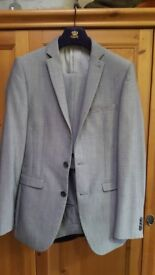 Men's suits next jacket and trousers 34r jacket 28r trouser