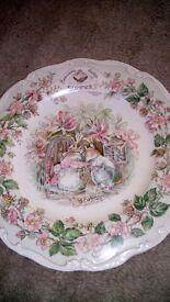 Royal Dalton plate Brambley hedge