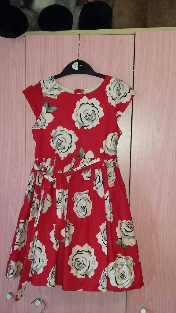 Girls party dress - 6 yrs - Matalan  f12421c53