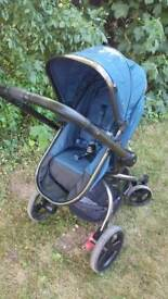 Mothercare Orb Pushchair in Teal
