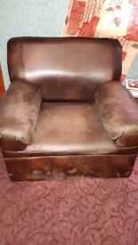 Faux suede Brown Sofa set (single seater, two-seater and three-seater)