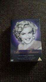 Marilyn monroe dvd boxset BN