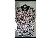 3 ladies tops size 12, next , river island & marks and spencer