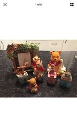 Winnie the Pooh china collectibles set