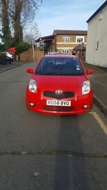 Toyota Yaris 1.4 Diesel manual 3 door red
