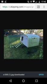 Omlet cube chicken coop with 2m run RRP £750