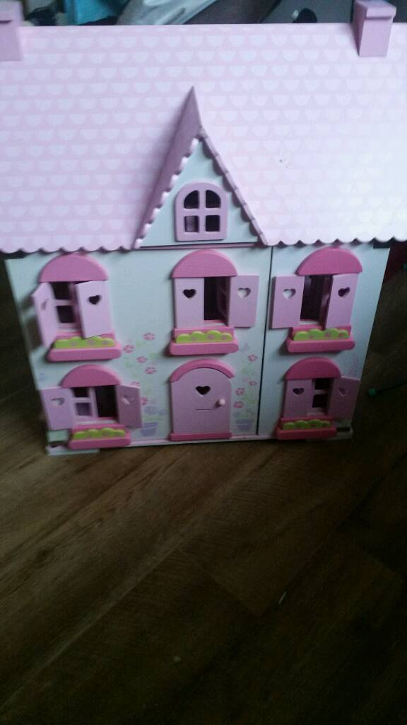Elc rosebud dolls house with furniture and dolls | in Hadlow, Kent | Gumtree