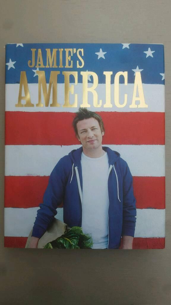 Jamie's America cookbook - used, very good condition