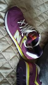 Ladies new balace trainers size 5