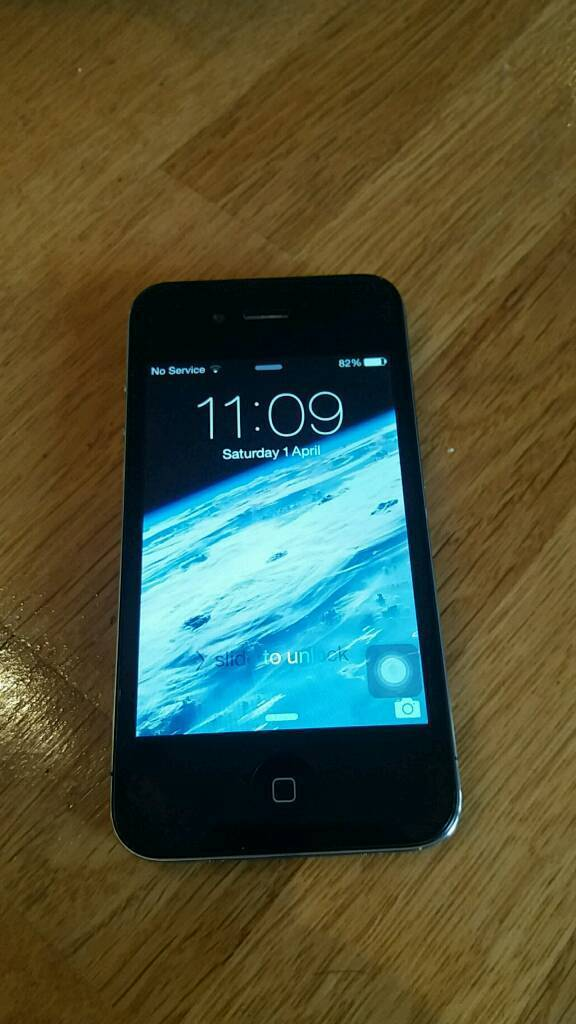 VG Condition iphone 4 8gb, New Cover. Tesco/O2. Be Quickin Chepstow, MonmouthshireGumtree - we will not accept less than £40. Getting fed up with time wasters, so please only contact if u are ready to buy.£40 minimum for a quick sale.In perfect working order.Screen in great condition, always had cover on. Also, Back cover is brand new and...