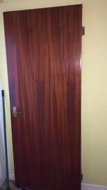 Wood doors for sale good condition