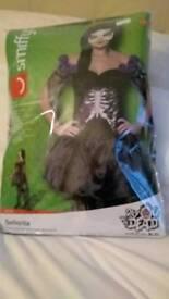 Fancy dress costume : Day of the Dead (Bond - Senorita)