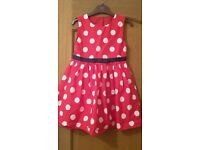 girls mothercare dress 6-7 great cond