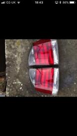 Vauxhall Vectra tail lights
