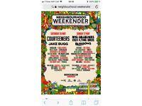 4 Weekend tickets to neighbourhood Weekender, Warrington