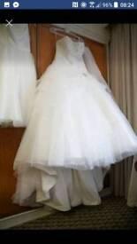 Wedding Dress, Berketexx Bridal, size 18-22 (corseted)