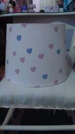 Next girls lamp shade, never been used
