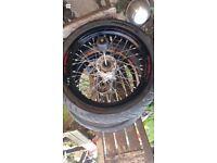 XL talon supermoto wheels