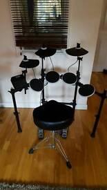 Alesis DM lite electronic drum kit and stool