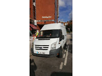FORD TRANSIT HIGH ROOF LONG BASE for HIRE